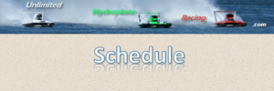 Unlimited Hydroplane Racing Schedule
