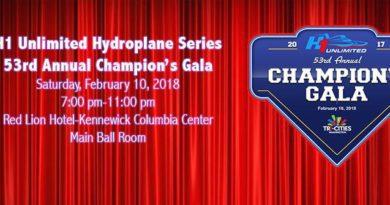 Unlimited Hydroplane Racing 2017 Gala Fan Awards