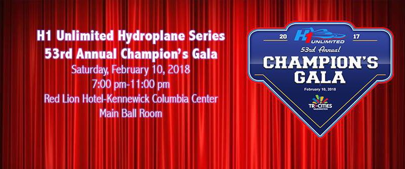 Unlimited Hydroplane Racing 2017 Gala Fan Awards